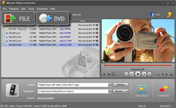 Step 2 - Open Video. 3gp converter, 3gp video converter, avi to 3gp, convert 3gp, convert video to 3gp, mp4 to 3gp, 3gp software, wmv to 3gp, convert dvd to 3gp, dvd to 3gp, dvd to 3gp converter.