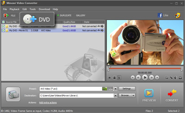 Step 2 - Open Video. Rip DVD, DVD ripper, DVD ripping, DVD ripping software.