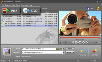 Add Video or DVD