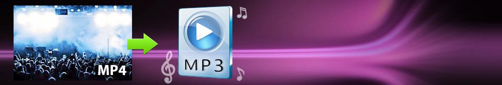 MP4 in MP3 Converter