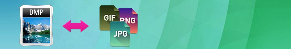 Как конвертировать изображения в формате BMP