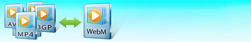 Как конвертировать в WebM и обратно