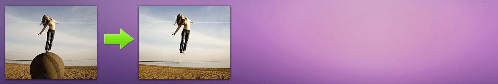 Как создать левитацию на фотографии