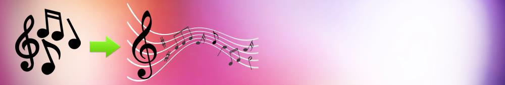 Как склеить музыку