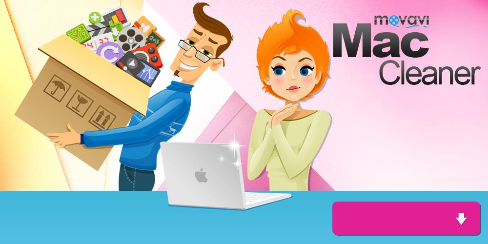 Mac cleaner von Movavi