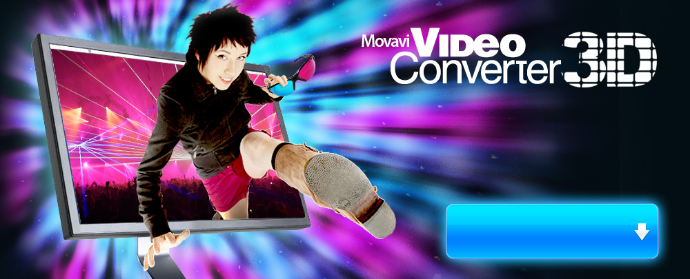 Convert video to 3d with Movavi