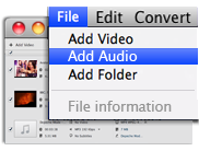 Convert Multiple Files at once in our Movavi Mac MP3 Converter