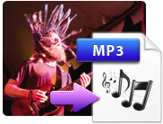 Extract files to Music Converter for Mac