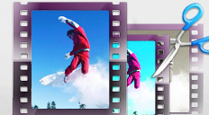Create a movie with Movavi video editor — apply effects, join, split and crop videos, add titles and transitions