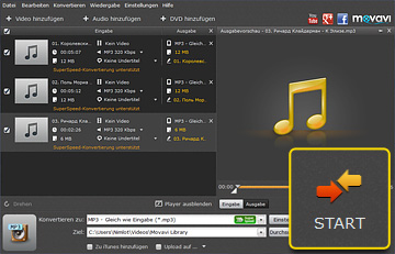 WAV zu MP3 converter auf deutsch