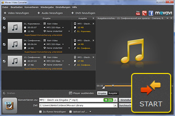 AAC in MP3 konvertieren