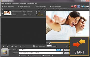 MPEG-Dateien speichern