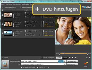 Movavi DVD-zu Video Converter