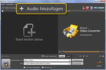 Movavi FLAC zu MP3 Konverter