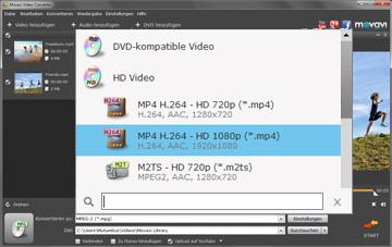 Movavi HD Videokonverter