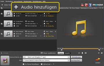 M4A zu MP3 konvertieren