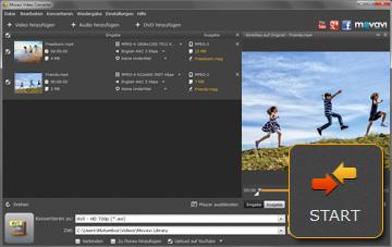Movavi MKV- zu AVI Video Converter
