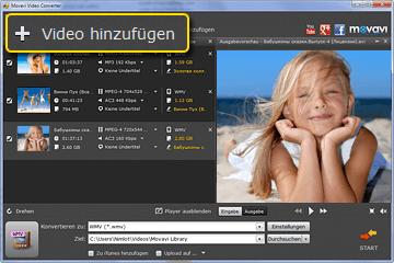 MOV in WMV Video Converter