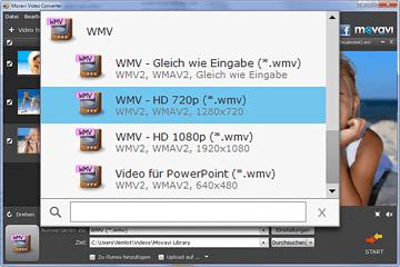 MOV zu WMV Videokonverter