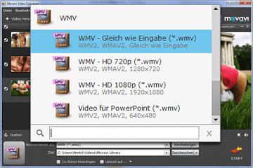 MP4 zu WMV Videokonverter