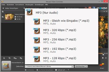 MPEG zu MP3 Converter