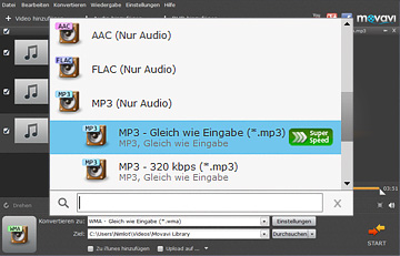 Movavi MP3 Konverter