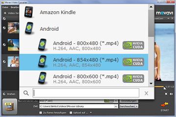 Video Konverter für Android