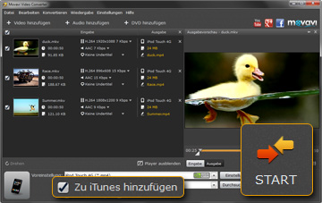 Video Konverter für iPod