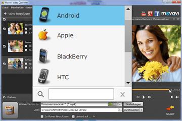 Video Converter für Handy