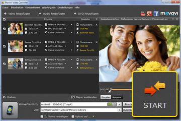 Movavi Video Converter für Handy