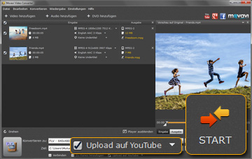 Movavi FLV- Videokonverter