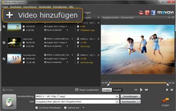 Movavi Video-zu MPEG Converter