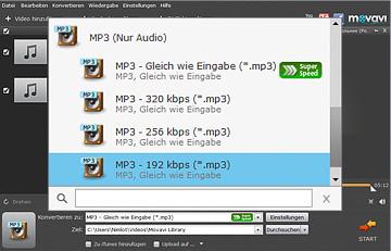 Movavi Audio Convertrer