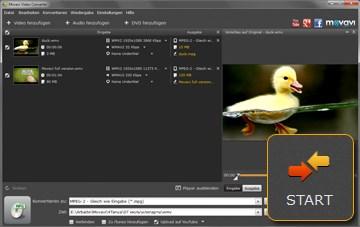 Movavi WMV zu MPEG konverter auf deutsch