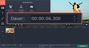Slideshow mit Movavi Video Editor machen