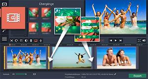 Slideshow mit Movavi Video Editor erstellen