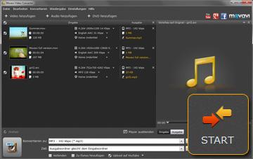Movavi Video Musik und Video Konvertierungsprogramm