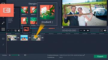Movavi Videoschnitt-Software