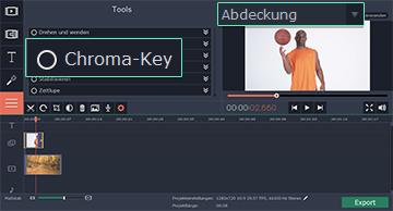 Chroma Key-Effekt Anwender
