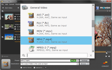 Step 2 - Choose the Format or Device Preset