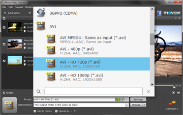 Step 3 - Choose the Output Format