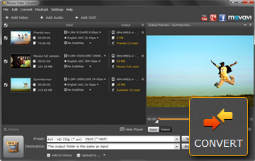 Step 4 - Convert MP4 to MOV