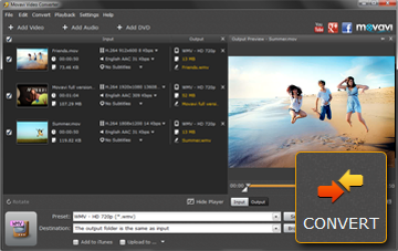 Step 4 - Start Converting MOV to WMV