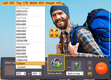 Choose the parameters and convert SWF to video with Movavi