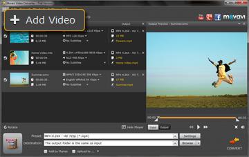 Step 2 - Open Video. PSP converter, psp video converter, video to psp, mp4 to psp, avi to psp, 3gp to psp, wmv to psp.