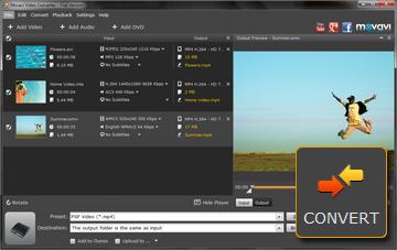 Step 4 - Start Conversion. PSP converter, psp video converter, video to psp, mp4 to psp, avi to psp, 3gp to psp, wmv to psp.