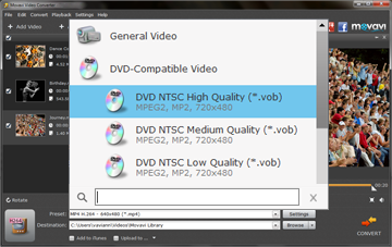 Step 3 - Choose an output format