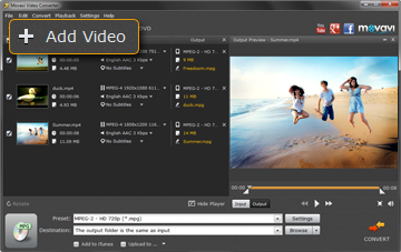 Step 2 - Choose a Video File for Conversion
