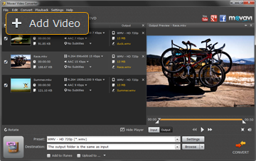 Step 2 - Open Your Video in the WMV File Converter from Movavi