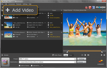 Step 1 - Add videos to the Movavi format converter